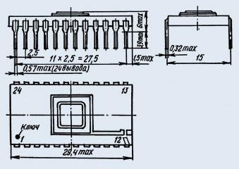Микросхемы 1002ПР1 (Ni)