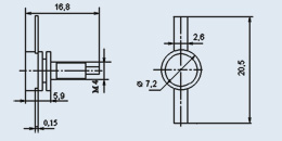 Транзистор 2П829Д