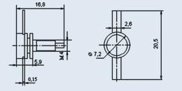 Транзистор 2П308В9