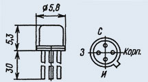 Транзистор 2П301Б