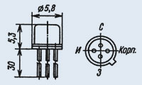 Транзистор 2П304А