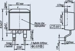 Транзистор 2П767В91