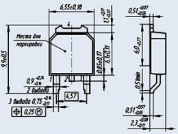 Транзистор 2П769А-9