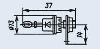 Стабилитрон 2С920А