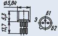 Транзистор 2Т208Д