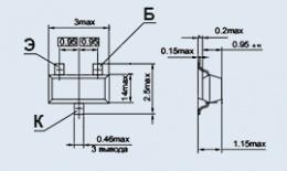 Транзистор 2Т3130А9