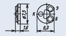 Транзистор 2Т607А-4Н