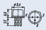 Транзистор 2Т630Б
