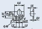 Транзистор 2Т664А91
