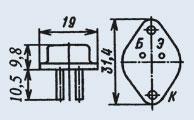 Транзистор 2Т709Б