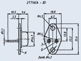 Транзистор 2Т716А1