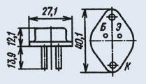 Транзистор 2Т845А