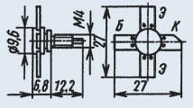 Транзистор 2Т922Б