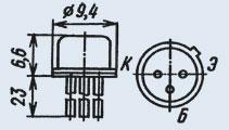 Транзистор 2Т928Б ОСМ
