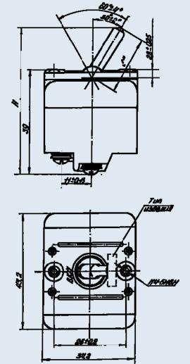 Выключатель герметизированный 3ВГ-15К