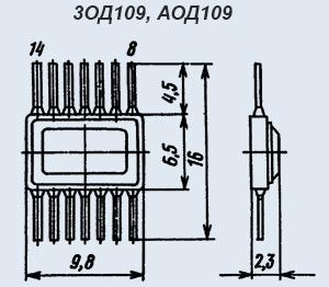 Индикатор 3ОД120А1