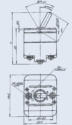 переключатель 3ППГ-15К