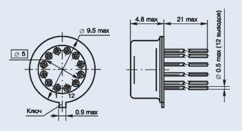 микросхема 521СА1