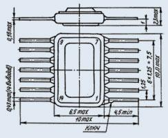 микросхема 521СА5 ММ