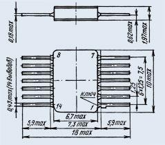 микросхема 533ИЕ15