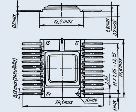 микросхема 533ИР8