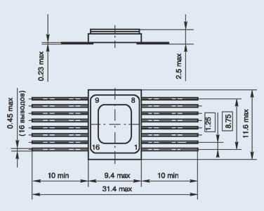 микросхема 533КП13