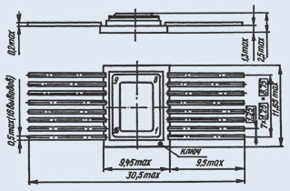 микросхема 533ТВ9