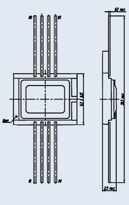 микросхема 5559ИН67 Т