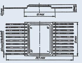микросхема 5559ИН68Т