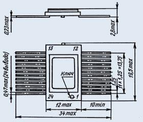 микросхема 5584ИР35 Т