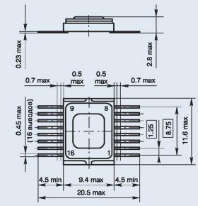 микросхема 571ХЛ4 ОСМ
