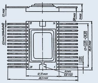Микросхема 588ИР1 ОСМ