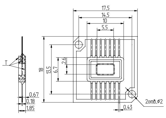 Серия КМОП интегральных схем 5514БЦ2Т2-109