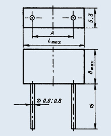 Конденсатор К10-47МВ МПО 2012М 50В-100пф 5% N
