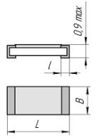 Резистор общего применения Р1-8МП-0,125Вт-5,11 кОм+/-1% 0,5Л