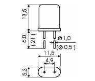Резонатор РК-169МА-6ДТ-9216кГц-В